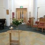 The inside of our chapel