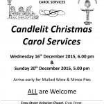 Christmas Carol Services 2015