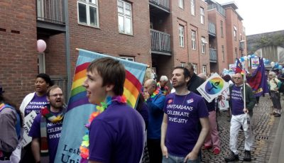 Unitarians Gathered at Pride
