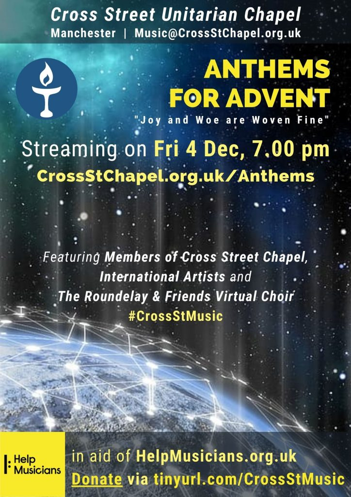 Anthems for Advent - 4 Dec 2020